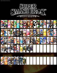 Smash Bros for Switch Roster Update 3 by SmashLegacy