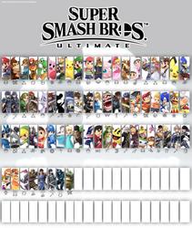 Smash Bros Ultimate Update 3.5 (White) by SmashLegacy