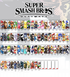 Smash Bros Ultimate Update 5 (White) by SmashLegacy