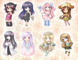 Chibi Commissions by yolichan