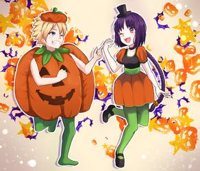Borusumi Halloween by lilshironeko