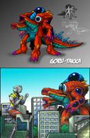 Ultra Kaiju Contest - GORU-TAKKA by AlmightyRayzilla