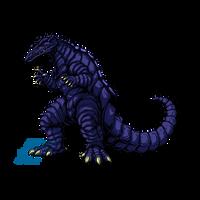Powered Kaiju - THE UNDERGROUND MONSTER by AlmightyRayzilla