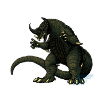 Powered Kaiju - THE ANCIENT MONSTER by AlmightyRayzilla