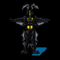 Powered Kaiju - THE SPACE DINOSAUR by AlmightyRayzilla