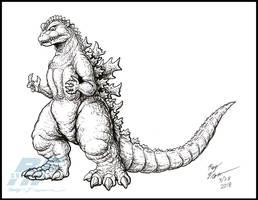 Godzilla Legacy - 1954 by AlmightyRayzilla