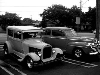Hot Rods by MagicSean