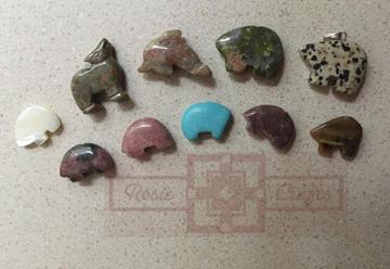Precious Animal Stones by rosiecrafts