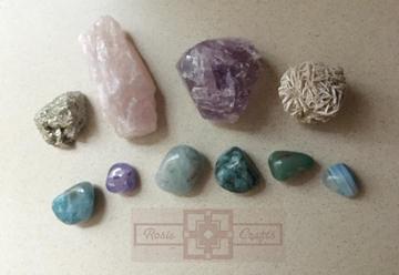 Rosie Crafts Precious Stone Collection by rosiecrafts
