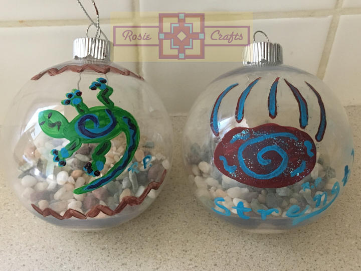 Artisan Tribe Southwest Ornaments by rosiecrafts