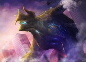 Kaiju by chalii