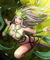 Forest Elf Janna by chalii