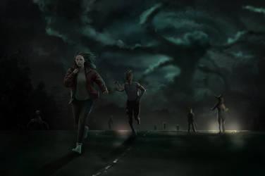 Run away by chalii