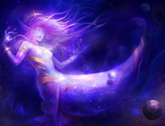 Nebula Mermaid by chalii