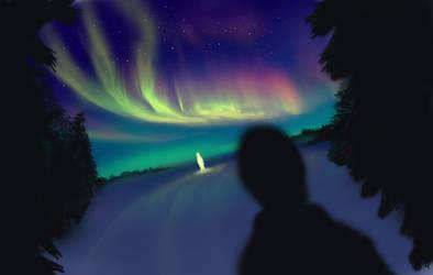 Aurora by chalii