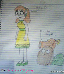 My Styles of Matilda with Plants by CrazyPlantMae