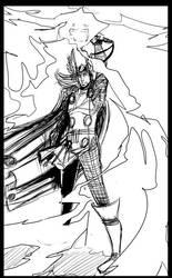 Thor, God of Thunder by Legate
