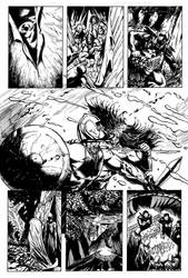 Romans vs the Celts page 5 ink by dfbovey
