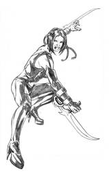 Bloodrayne WIP by dfbovey