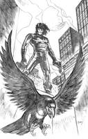 The Crow by dfbovey