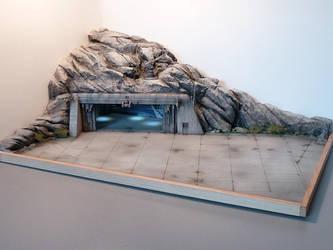 scifi space ship landing zone #2 by JieF-R