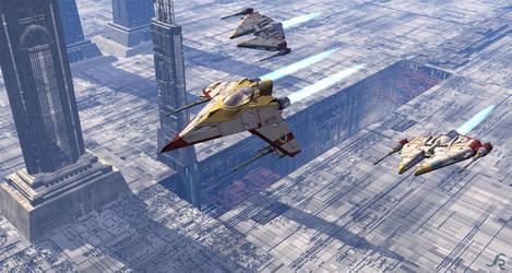 Vega Squadron by JieF-R