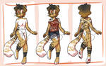 anthro adopt2[SOLD] by zombie-kity
