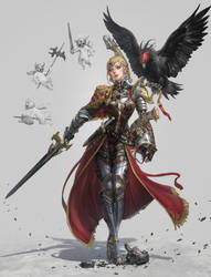 eagle knight by inshoo1
