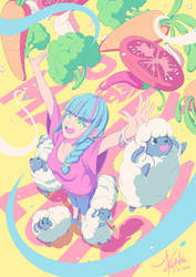 Yay, veggies! by Valinhya