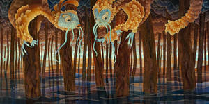 Flooded Forest by kaorishima