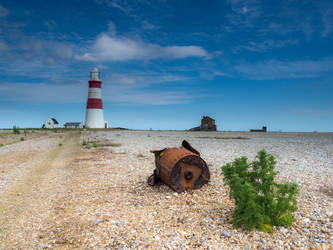 Orford Ness Lighthouse by davepphotographer