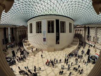Great Court British Museum by davepphotographer