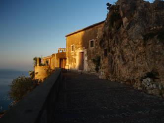 Madonna della Rocca church Taormina by davepphotographer