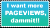 more pageviews stamp by sixthkidfromthestarz