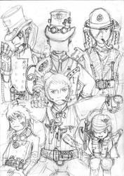 CR: Steampunk Halloween by supirdelman