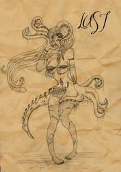 23Remy's 7 Sins: Lust sketch by supirdelman