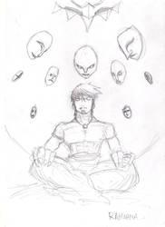 Sketch: Rahwana by supirdelman