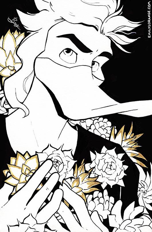 Succulent by emily-lorange