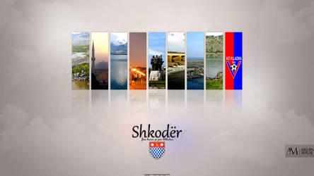 Shkoder wallpaper 2014 Abedin malaj Design by AbizZ
