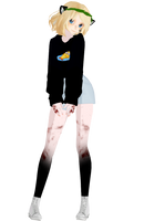  MMD  F I S H by OneWhoFeelLonely2