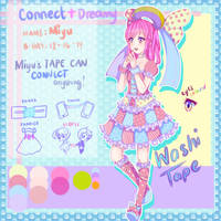Miyu OC - Washi Tape by Riia-sama