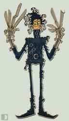 Edward Scissorhands by spundman