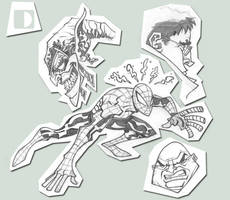 Spidey concepts by spundman