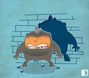 The Rhino by spundman