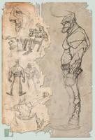 Rocking the sketch by spundman