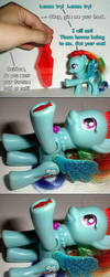 Rainbow Dash Fish Fortune by kramwartap