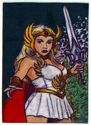 She-Ra ATC by kramwartap