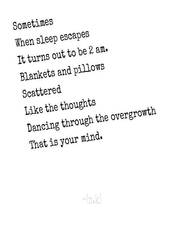 Overgrown Thoughts by Chambersluvsnani