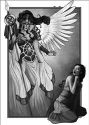 Arachne- Athena's wrath by DrawingNightmare