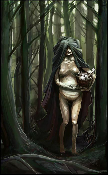Baba Yaga by DrawingNightmare